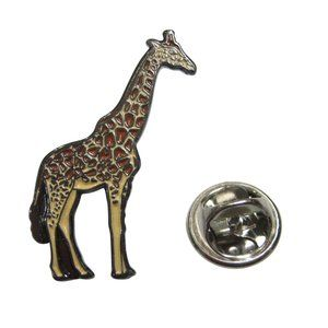 Colorful Safari Giraffe Animal Lapel Pin